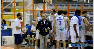 C GOLD. Pescara Basket ko a Roma: la promozione in Serie B si deciderà in gara 3