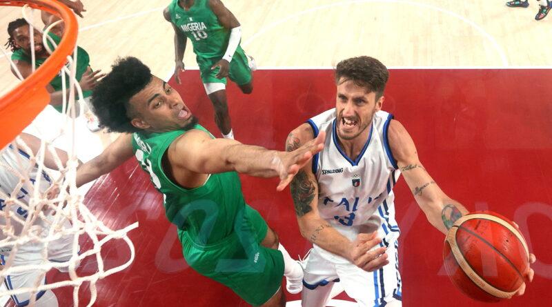 Italia-Nigeria di basket: gli azzurri vincono 80-71 e vanno ai quarti di finale