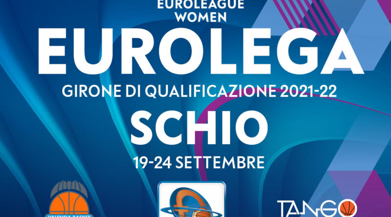 Schio sarà sede delle gare di qualificazione all'Eurolega