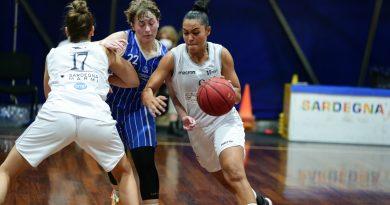 La Iannas Virtus Cagliari non perde un colpo: battuto anche il Basket 90 Sassari 69-46